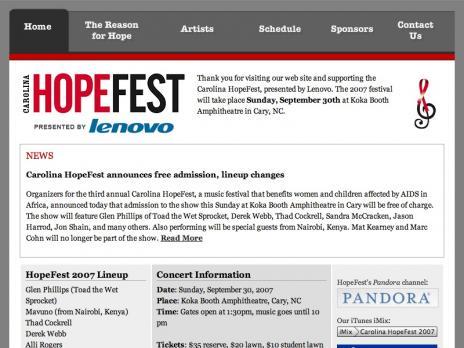 Carolina HopeFest