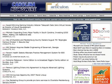 Carolina Newswire