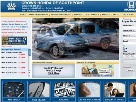 Crown Honda of Durham