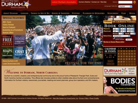 Durham - Visitor Site