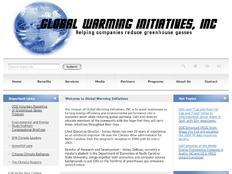 Global Warming Initiatives