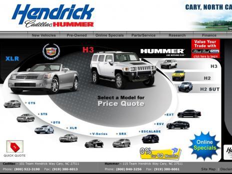 Hendrick Cadillac Hummer