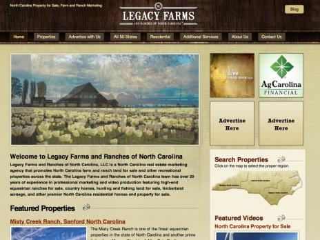 Legacy Farms and Ranches NC