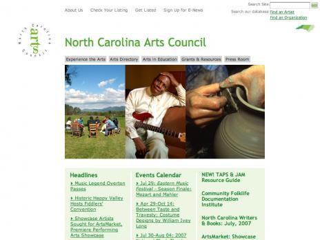 NC Arts Council