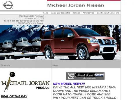 Michael Jordan Nissan