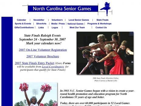 NC Senior Games