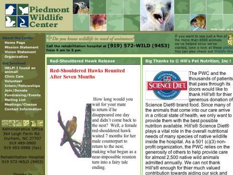 Piedmont Wildlife Center