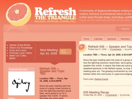 Refresh the Triangle