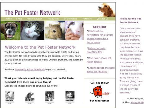 Pet Foster Network