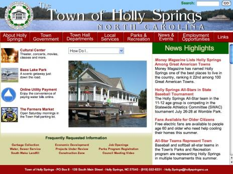 Town of Holly Springs