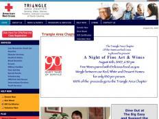 Triangle Red Cross