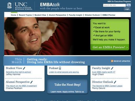 UNC EMBA Talk