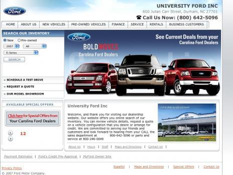 University Ford Durham