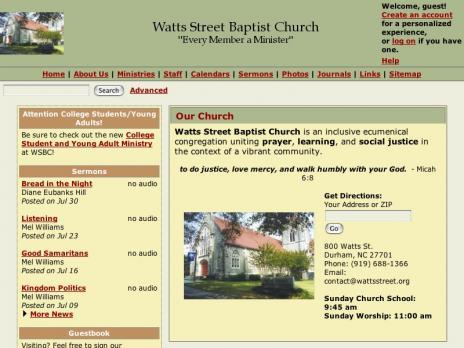 Watts Street Baptist
