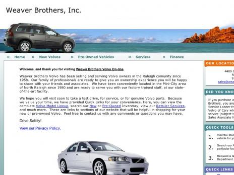 Weaver Brothers, Inc.